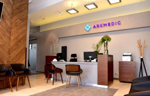 Wnętrze Centrum Medycznego Arkmedic